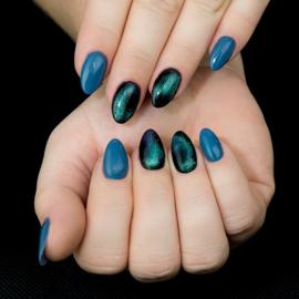 Semilac 3D Cat Eye gelpolish Turquoise 636