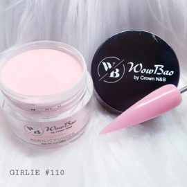 WowBao Nails acryl poeder nr 110 Girlie 28g