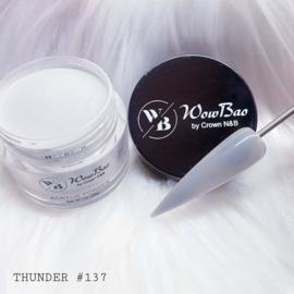 WowBao Nails acryl poeder nr 137 Thunder 28g
