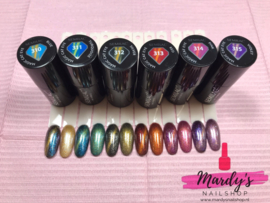 Semilac Magic Cat Eye gelpolish Red 313