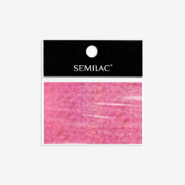 Semilac transfer folie 748 Holo Pink