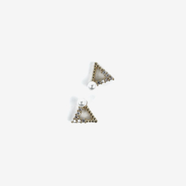 Semilac nailart triangle goud 784 2pcs