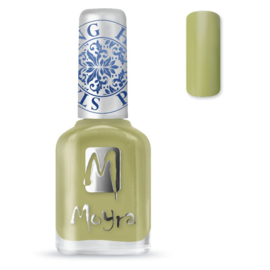 Moyra Stempel Nagellak sp15 Light Green
