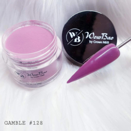 WowBao Nails acryl poeder nr 128 Gamble 28g