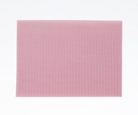 Table Towels 25 stuks roze tafel doekjes