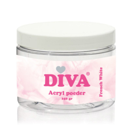 Diva Acryl Poeder French White 250 gram