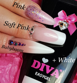 Diva Easygel White 60ml (acrylgel)