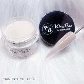 WowBao Nails acryl poeder nr 116 Sandstone 28g