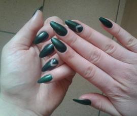 Semilac gelpolish 079 Dark Green Pearl 7ml