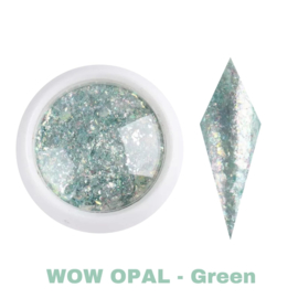WowBao Nails Wow Opal Flakes - Green