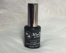 WowBao Nails Matte No Wipe Topcoat 15ml