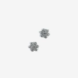 Semilac nailart Sneeuwvlokjes zilver 779 2pcs