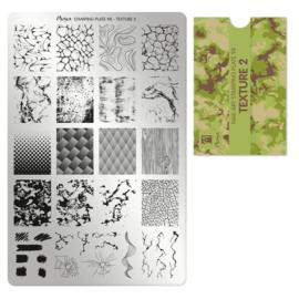 Moyra Stempel Plaat 98 Texture 2