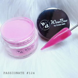 WowBao Nails acryl poeder nr 124 Passionate 28g