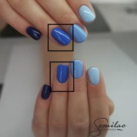 Semilac gelpolish 019 Blue Lagoon 7ml