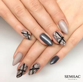 Semilac gelpolish 107 Steel Gray 7ml
