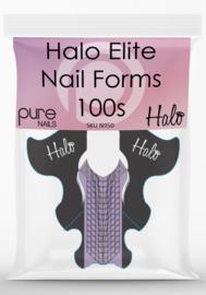 Halo Elite Dual Nail Forms - 100's