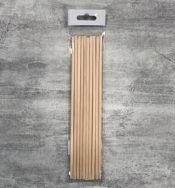 Pure Nails Manicure wooden Sticks 17,8cm 10st