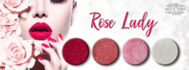 Metoe Nails Glitter Rose Lady Tres Bien