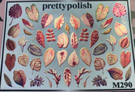 Pretty Polish | Slider | Waterdecal M290 - Herfst