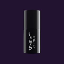 Semilac gelpolish 100 Black Purple 7ml