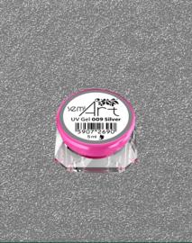 Semilac SemiArt nailart gel 009 silver