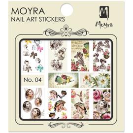 Moyra Water Transfer Nailart Sticker 04