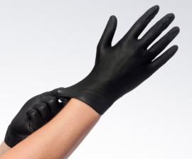 Easyglide & Grip Nitrile handschoenen zwart S 100 stuks