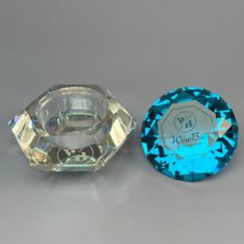 WowBao Nails Dappendish diamant crystal