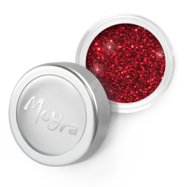 Moyra Glitter Powder 18 rood
