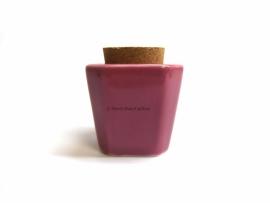 Dappendish porcelein roze