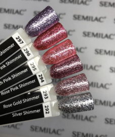 Semilac gelpolish 296 Intense Pink Shimmer 7ml