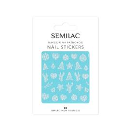 Semilac Nagelsticker 02