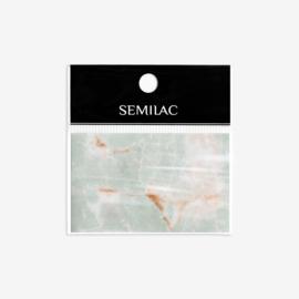 Semilac transfer folie 10 Grey Marble