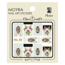 Moyra Water Transfer Nailart Sticker 33
