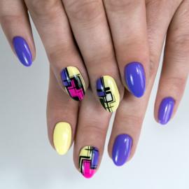 Semilac gelpolish 036 Pearl Violet 7ml