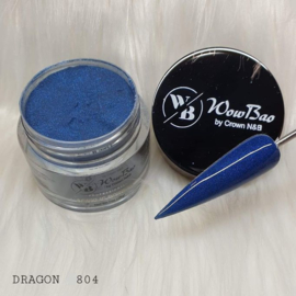 WowBao Nails acryl poeder Glitter nr 804 Dragon 28g