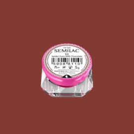 Semilac Spider Gum Gel 11 Milk Chocolate