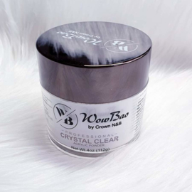 WowBao Nails acryl poeder Crystal Clear 112g