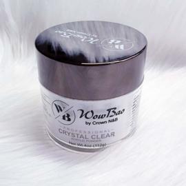 WowBao Nails acryl poeder Crystal Clear 112g