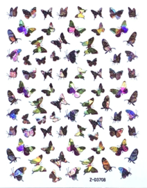 Butterfly Nail art Stickers 6 Z-D3708
