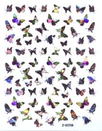 Butterfly Nail art Stickers 6 Z-D3708