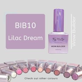 WowBao Nails Builder Gel BIB10 Lilac Dream 15ml