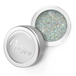 Moyra Glitter Powder 04 Zilver holo