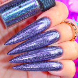 World of Glitter - Galaxy Purple Holographic Chrome Dust