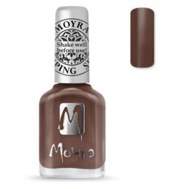Moyra Stempel Nagellak sp37 Chocolate Brown