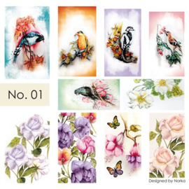 Moyra Water Transfer Nailart Sticker 01