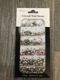 Crystal steentjes multi 08 1728st.