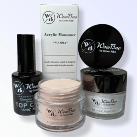 WowBao Nails acryl TRY ME set