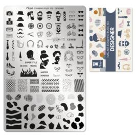 Moyra Stempel Plaat 103 Designer